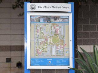 Peoria Municipal Campus Map