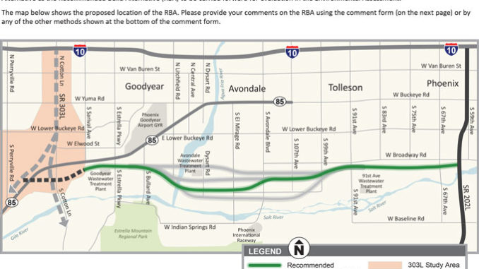 ADOT Public Meeting SR-30 tomorrow night - Government Affairs on indot state map, tdot state map, caltrans state map,